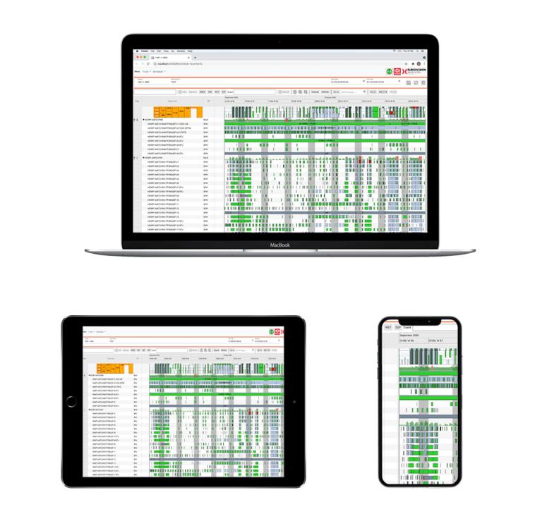 Multiplatform example of ScheduleJS