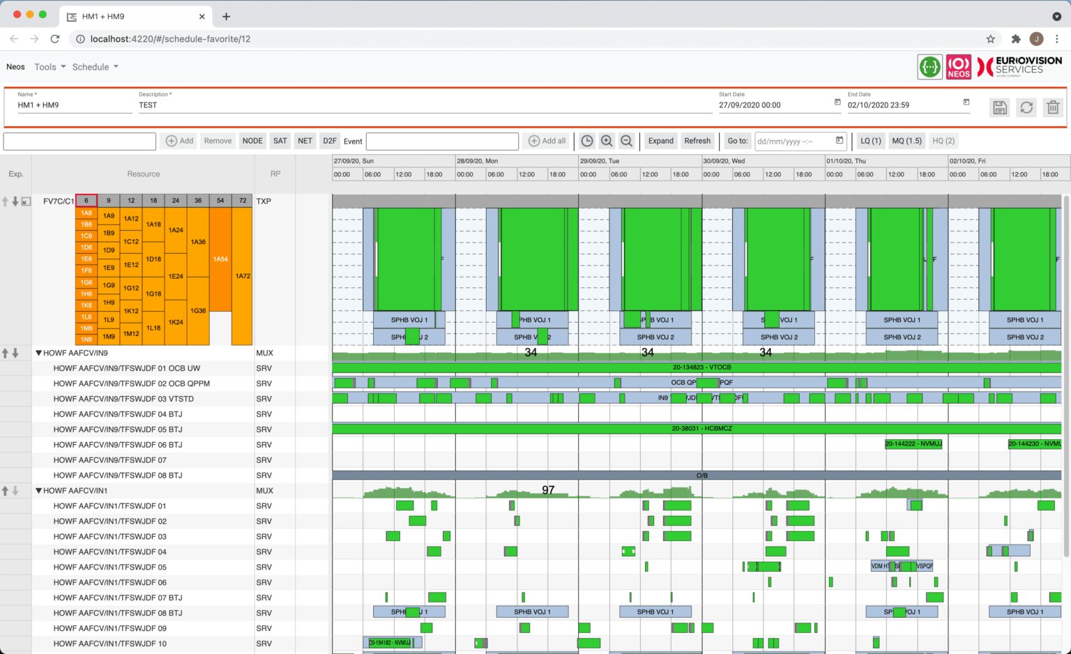A demo of ScheduleJS framework on the web